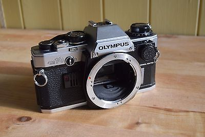 Olympus OM10 SLR with manual speed adaptor (body only)
