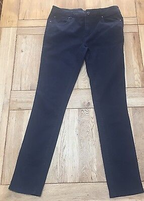 "Men's ASOS Skinny Fit Chinos 28"" Waist 30"" Leg Navy Blue"