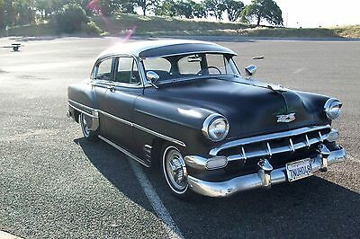 1954 Chevrolet Bel Air/150/210 chrome 1954 chevy bel-air, recent engine swap, all new engine parts and trans.daily dr.