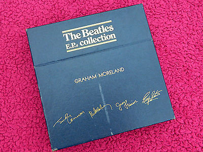Beatles Unique 1981 Uk E.p Collection 'bbc Dj Graham Moreland' Demo Box Set