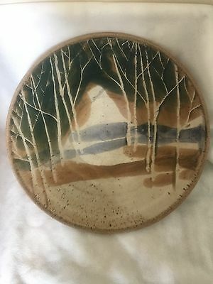 Large Vintage Art Studio Pottery Bowl Attributed to Peter Price Canadian Potter