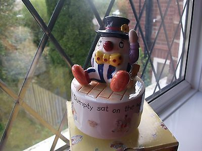 """Nursery Rhyme Collection"" Aynsley "" Musical Humpty Dumpty"" Beautiful Baby Gift"