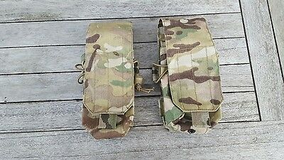 odin tactical multicam mtp molle magazine double ammo webbing beltkit pouches