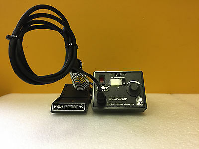 Weller EC4001ESD / EC4002C Soldering Station Power Unit + Iron + Holder. Tested!