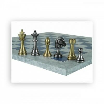 Chess Figures - Brass - Staunton - Kings Height 70mm