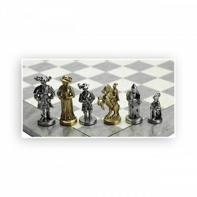 Chess Figures - Metal - Mercenary - Kings Height 100mm