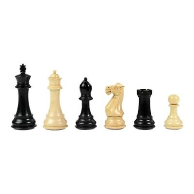 Chess figures - Staunton - black varnished - Kings height 102 mm