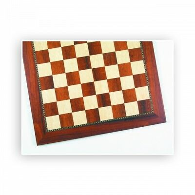 Chessboard - African Padouk and Ash - Width 54 cm - Field size 55 mm