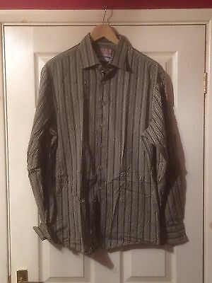 "Thomas Pink Slim-Fit Shirt Size 16 1/2"" Collar. 42"" Chest,31"" Sleeve,"