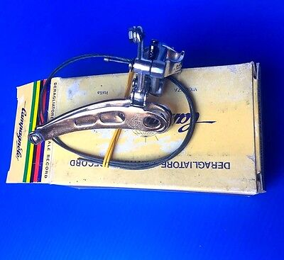 Campagnolo Super Record  front derailleur, NEW IN BOX, clamp on