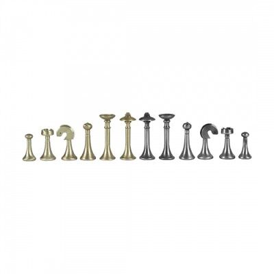 Chess Figures - Brass - Staunton - Kings Height 68mm