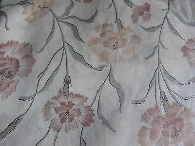 Liberty Tana Lawn : Vintage Carnation Delicatae Floral Fabric : 4 + Metres