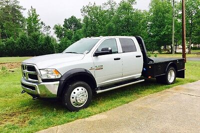 2017 Ram 4500  2017 Ram 4500 Chassis w/Flatbed