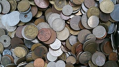 250 Foreign Coin Lot World Money Collection for Collectors