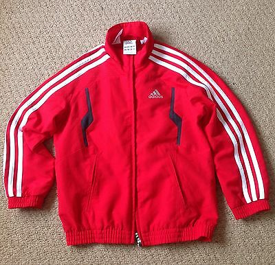 Adidas Kids Boys Red Sporty Top  5-6 Years