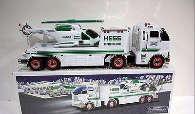 HESS TRUCK - 2006 Toy Truck and Helicopter