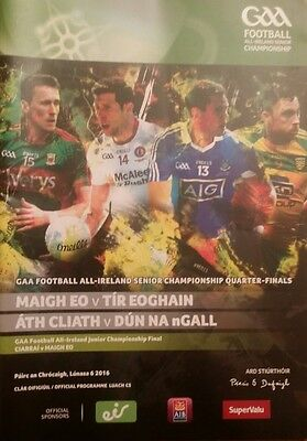 2016 gaa q final Mayo, Tyrone, Dublin and Donegal