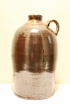 Martin Henry Eckerbush - Alabama - 2 Gallon Albany Slip Jug - 1890-1910 - Wow!!!