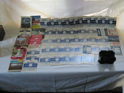 *Vintage*VIEW MASTER Sawyer's VIEW LITE*59 REELS*Color Pictures*LOT*Mixed*NR