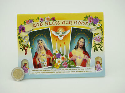 Jesus & Mary 12x16cm HOLY PLAQUE Picture choose your design