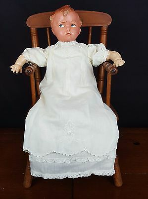 Effanbee Baby Grumpy Antique 1915 14-Inch Doll-Composition-Marked 176-Darling