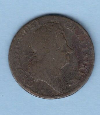 George First Woods Colonial 1723 Halfpenny Auction Starts At £1