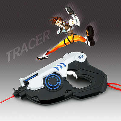 HOT Blizzard Game OVERWATCH Warriors TRACER MEKA D.VA weapon HAND GUN GENJI