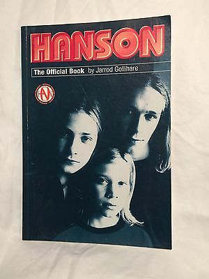 Hanson The Official Book By Jarrod Gollihare