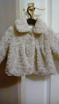 Baby Girls M&Co Coat 6-9 months