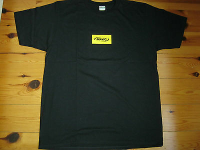 Mavic Cotton T-Shirt, Anvil Organics, Size Xl, Official Licensed Product, New