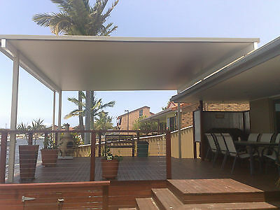 Patio kit  5m x 4m insulated Fly over solar span