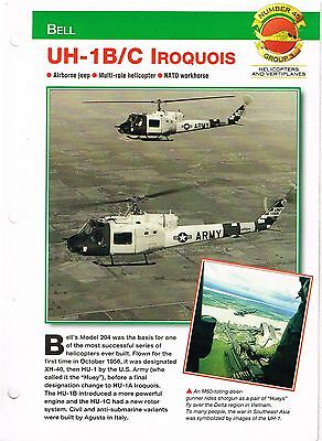 Aircraft of the World group 3 helicopters and vertiplanes #45  UH-1B/C IROQUOIS
