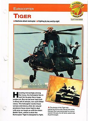 Aircraft of the World group 6 cutting edge  #3 Eurocopter  TIGER