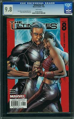 The ULTIMATES #8 CGC 9.8 NM/MT, Highest graded! The Experts 11/02 Marvel Comics