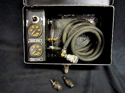 Vintage Aircraft Engine Cylinder Compression Tester Type S-1 Military #6289