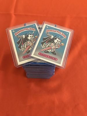 Garbage Pail Kids 1st Series 85 Card Complete Set Excellent-N/M 8 gloss 77 Matte