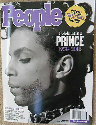 Celebrating PRINCE People Magazine SPECIAL COLLECTOR'S EDITION