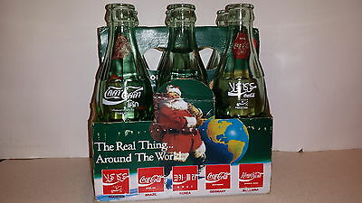 Around The World - Coca-Cola Collectible Bottles / 6 Pack - 1990 ( 6 Countries )