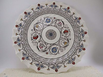 "Set of 4 Copeland Spode FLORENCE Dinner Plates 10 1/2"" EUC Earthenware China"