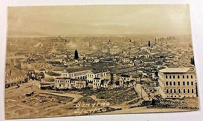 WWI RPPC Scenic View of Smyrna (Izmir Turkey) HTF Real Photo Postcard  3-21-20