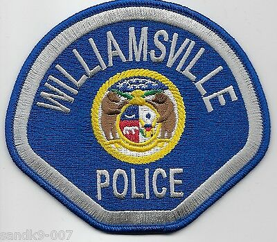 NEW Williamville Police State of MISSOURI MO Shoulder Patch