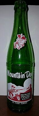 1965 Mt. Dew Hillbilly It'll Tickle Yore Innards 12 Ounce Bottle