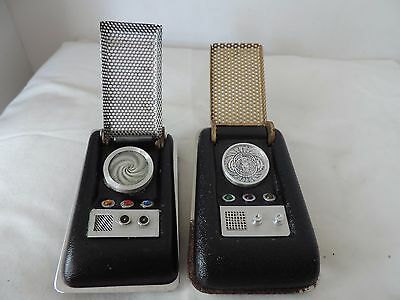 Two Vintage Star Trek Original Series Communicators Eighties Prop