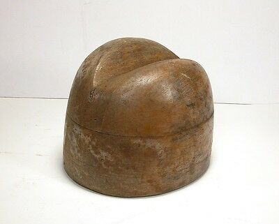 Antique Millinery Hat Block Mold (A)