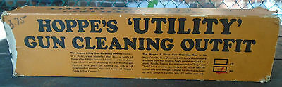 Hoppe's 'Utility' Gun Cleaning Outfit 30 calibre Rifle & Shot Gun C 1960