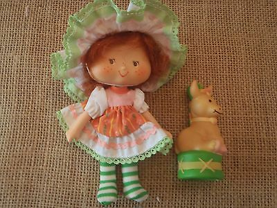 VINTAGE Strawberry Shortcake Cafe Ole Party Pleaser Burrito Pet Doll Lot