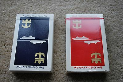 Royal Caribbean Cruise Line Playing Cards Vintage 2 Decks
