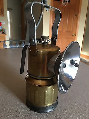 Antique - Vintage Justrite Carbide Lamp