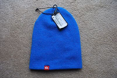 Quicksilver Toque Beanie Collection New With Tags Blue