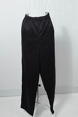 "Size XL Unisex ""Chefs Gear"" Black Chefs Pants. Great Condition. Bargain Price!"